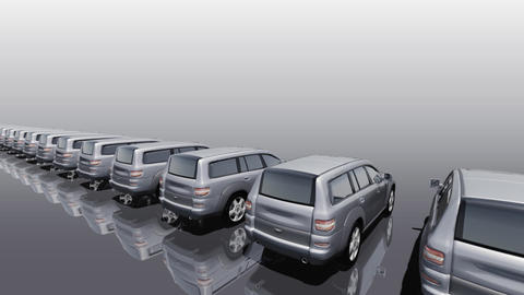 Car BG SUV rw Animation
