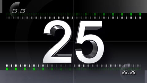 CountDown Number BB b HD Animation
