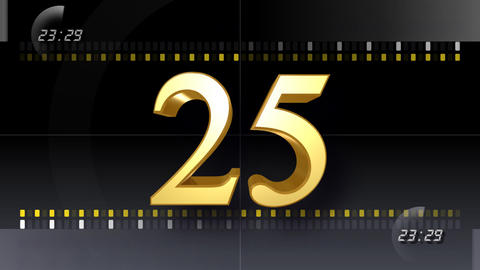 CountDown Number EE b HD Animation
