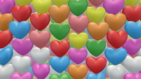 heart pan Sa Stock Video Footage