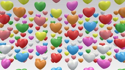 heart in b Stock Video Footage