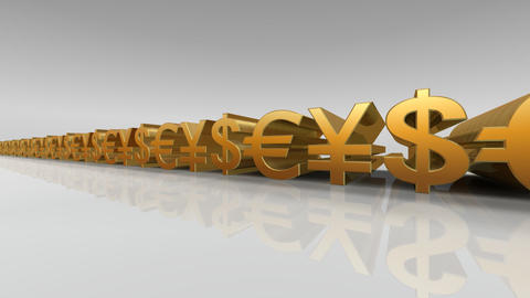 Money Symbol Aw Stock Video Footage