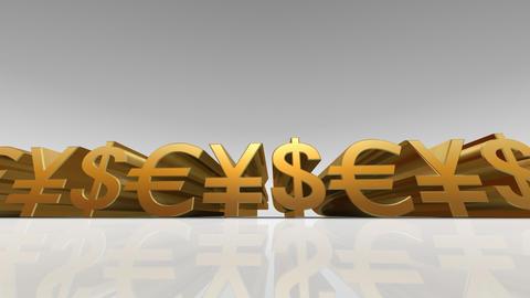 Money Symbol Bw Animation