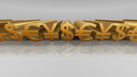 Money Symbol Ew Stock Video Footage