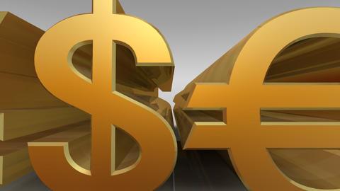 Money Symbol Fw Stock Video Footage