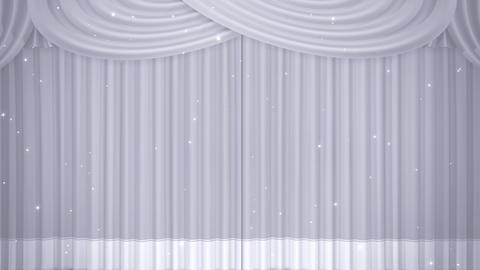 Stage Curtain B CF HD Animation