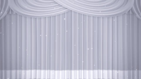 Stage Curtain B OF HD Stock Video Footage
