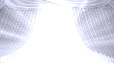 Stage Curtain B OU HD Stock Video Footage