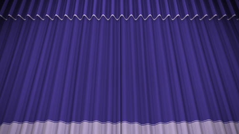 Stage Curtain C CU HD Animation