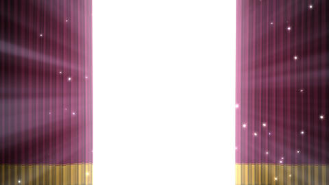 Stage Curtain D OF HD Animation