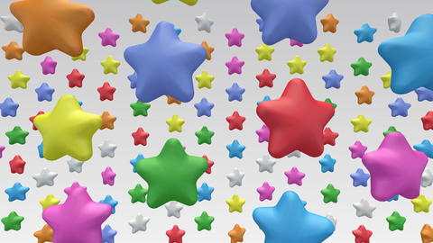 star in b HD Stock Video Footage