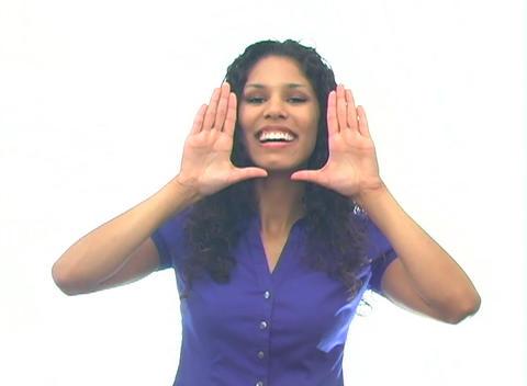 Beautiful Latina-3c Stock Video Footage
