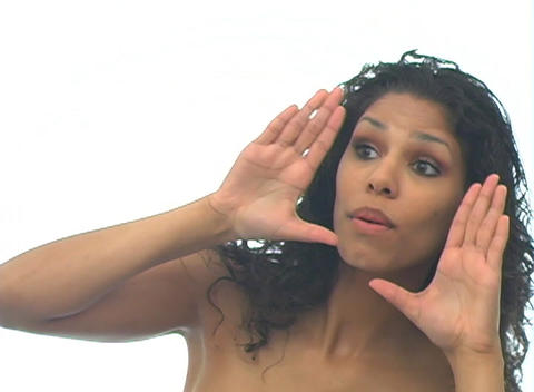 Beautiful Latina-5b Stock Video Footage