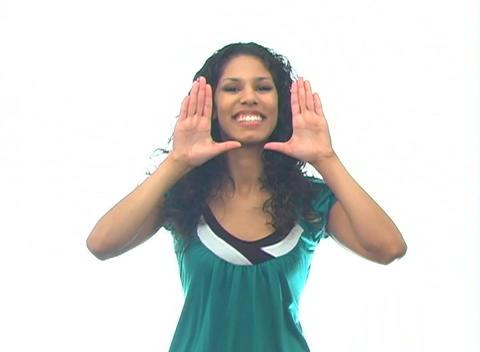 Beautiful Latina-6a Stock Video Footage