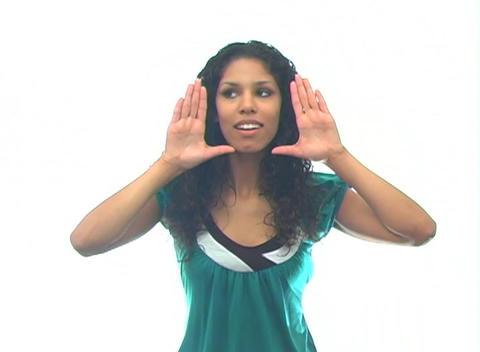 Beautiful Latina-6c Stock Video Footage