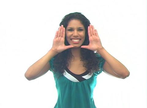 Beautiful Latina-6e Stock Video Footage