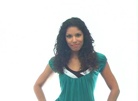 Beautiful Latina-6g Stock Video Footage