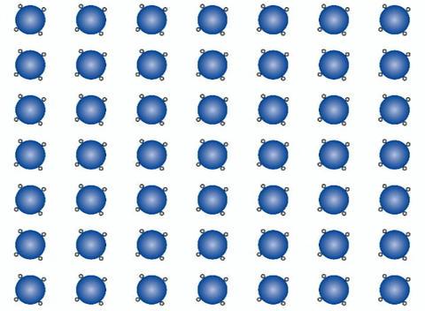 Rotating Circles (1) Stock Video Footage
