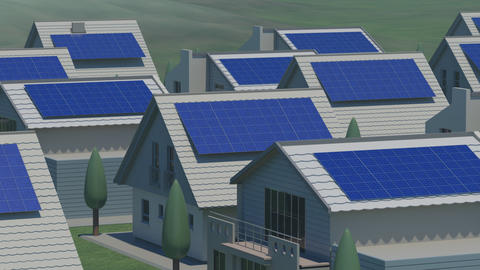 Solar panel Ja HD Animation