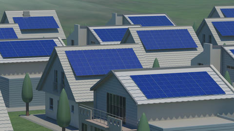 Solar panel Ja HD Stock Video Footage