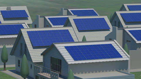 Solar panel Ja HD Stock Video Footage