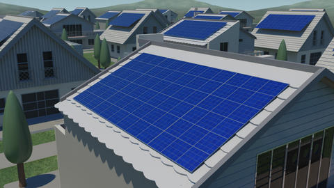 Solar panel Jc HD Animation