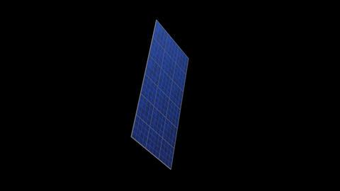 Solar panel Rc HD Stock Video Footage