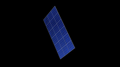 Solar panel Rc HD Stock Video Footage