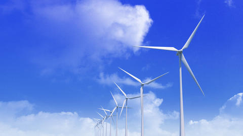 Wind Turbine Hbb HD Stock Video Footage