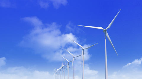 Wind Turbine Hbb HD Animation