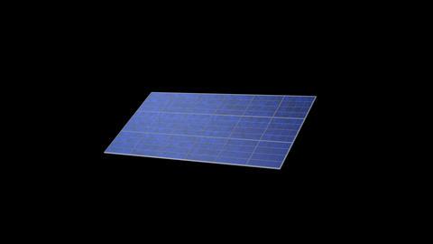 Solar panel Ra HD Stock Video Footage