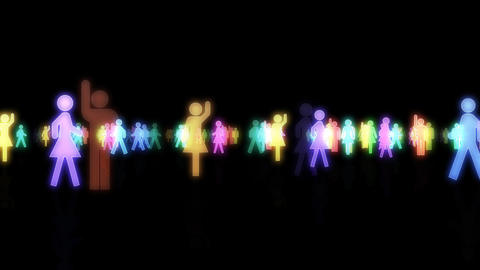 Silhouette People S A3 Mb Animation