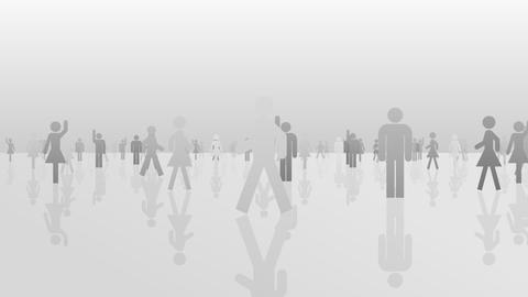 Silhouette People S B1 Mb Animation