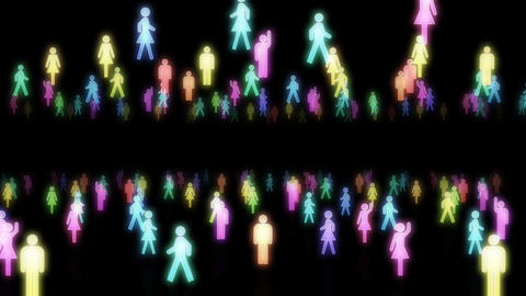 Silhouette People S B2 Mb Stock Video Footage