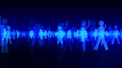 Silhouette People S B3 Mb Animation