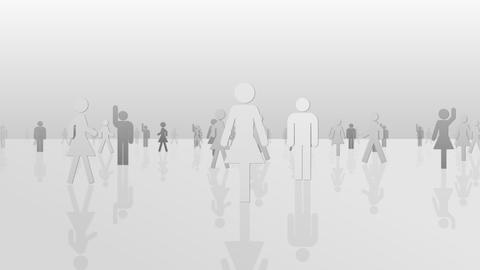 Silhouette People S C1 Mb Animation