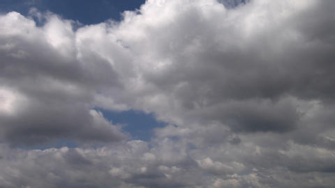 Timelapse clouds 05 Stock Video Footage