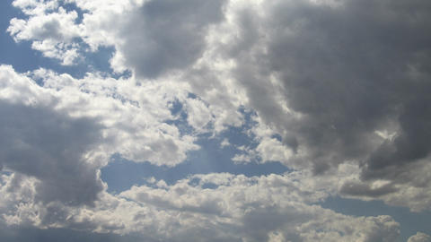 Timelapse clouds 04 Stock Video Footage