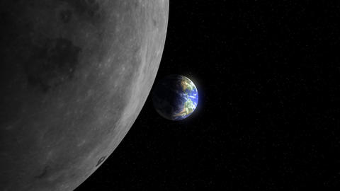 Earth to the Moon (25fps) Animation