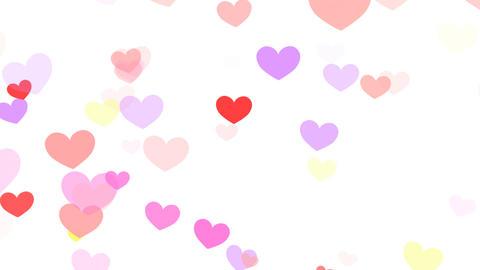 Heart Pattern HF2D hrt2 Lc HD Stock Video Footage