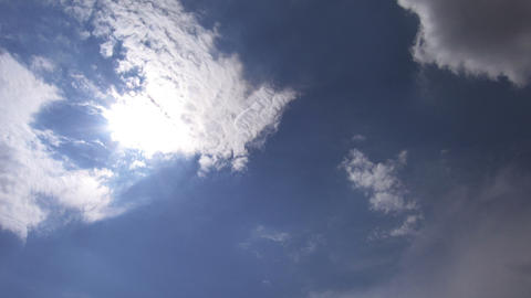 Timelapse clouds 08 Stock Video Footage