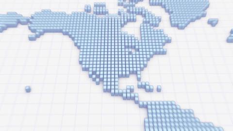 Map BlockGI W5S2 C HD Stock Video Footage
