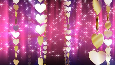 Chain Heart B Stock Video Footage