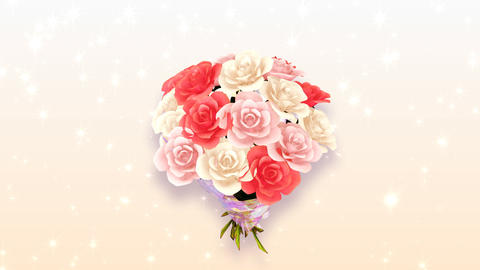 Rose Bouquet A2 Animation