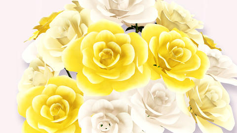Rose Bouquet C3 CG動画