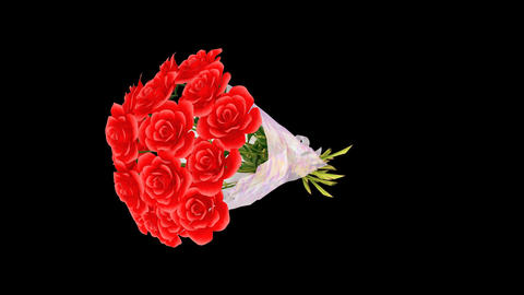 Rose Bouquet Dm Stock Video Footage