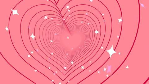 Tunnel Heart B Stock Video Footage