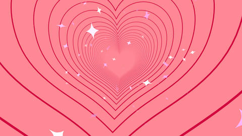 Tunnel Heart B Animation
