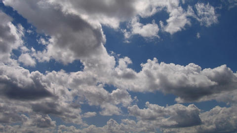 Timelapse clouds 16 Stock Video Footage