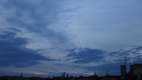 Timelapse clouds 14 Stock Video Footage